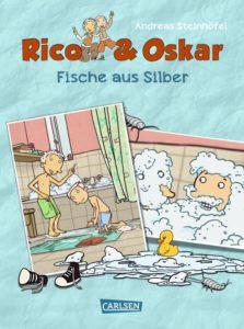 Rico und Oskar-Fische aus Silber, Autor Andeas Steinhöfel, Comic, Kindercomic, Kinderbuch ab 7 Jahren