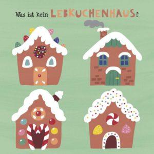 Die bunte Weihnachtszeit - Wo ist der Unterschied, Pappbilderbuch Weihnachten