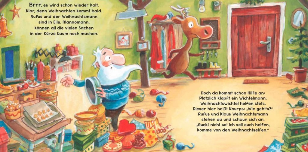 Bilderbuch Weihnachten, Bilderbuch Weihnachten Kindergarten, Weihnachtsbuch für Kleinkinder